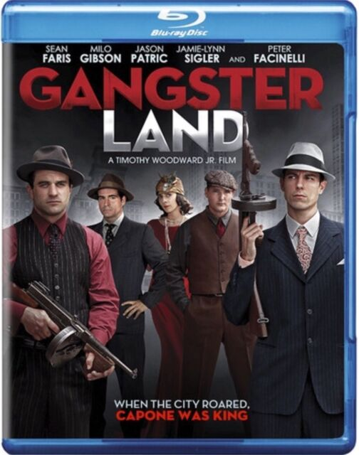 Gangster Land (Blu-ray Disc, 2018) Timothy Woodward Jr. Film New