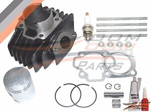 Yamaha PW 50 Big Bore Kit Top End Set 60cc Piston Cylinder Rings 1981 - 2009 NEW