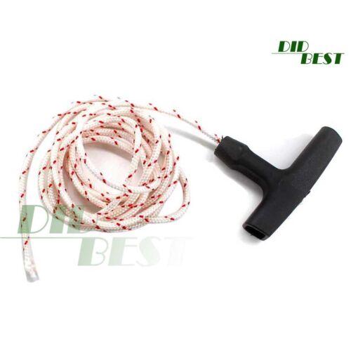 Startergriff mit 2m Starterseil Seil 3,5mm für Stihl 026 MS260 MS360 Motorsäge