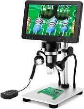 7 Lcd 1080p Digital Microscope 1200x Zoom Magnifier Video Recorder Remote Usa