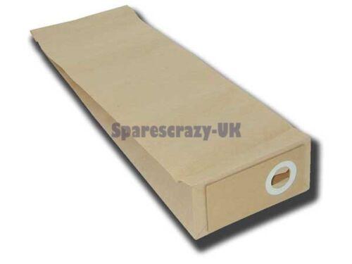10 Per Confezione da 10 Nilfisk Gu350a Pacco Sacchetti Carta Aspirapolvere