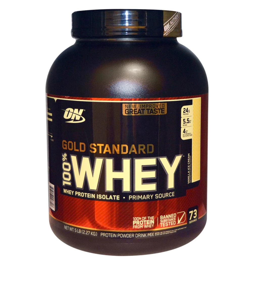 Optimum Nutrition ON 100% Gold 908g Standard Whey Protein Powder 908g Gold 2.2kg 4.5kg eed6ab