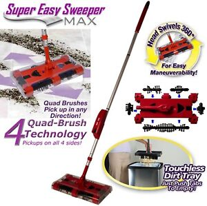Cordless-Swivel-Sweeper-Max-Generation-8-RCR-tech-Remove-Clean-Reuse-Bristles