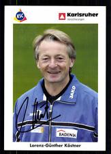 Lorenz-Günther Köstner Karlsruher SC 2002-03 TOP  + A 72028