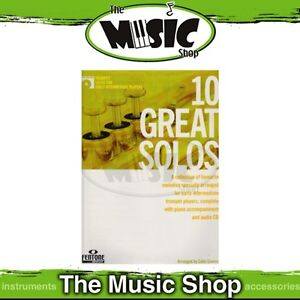 New-10-Great-Solos-for-Early-Intermediate-Trumpet-Music-Book-amp-CD