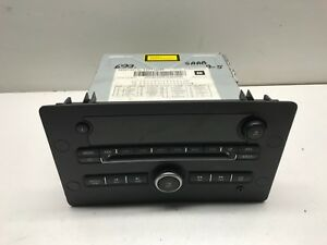 SAAB 9-5 VECTOR SPORT CD RADIO 12771699 Divorced Unit 2007