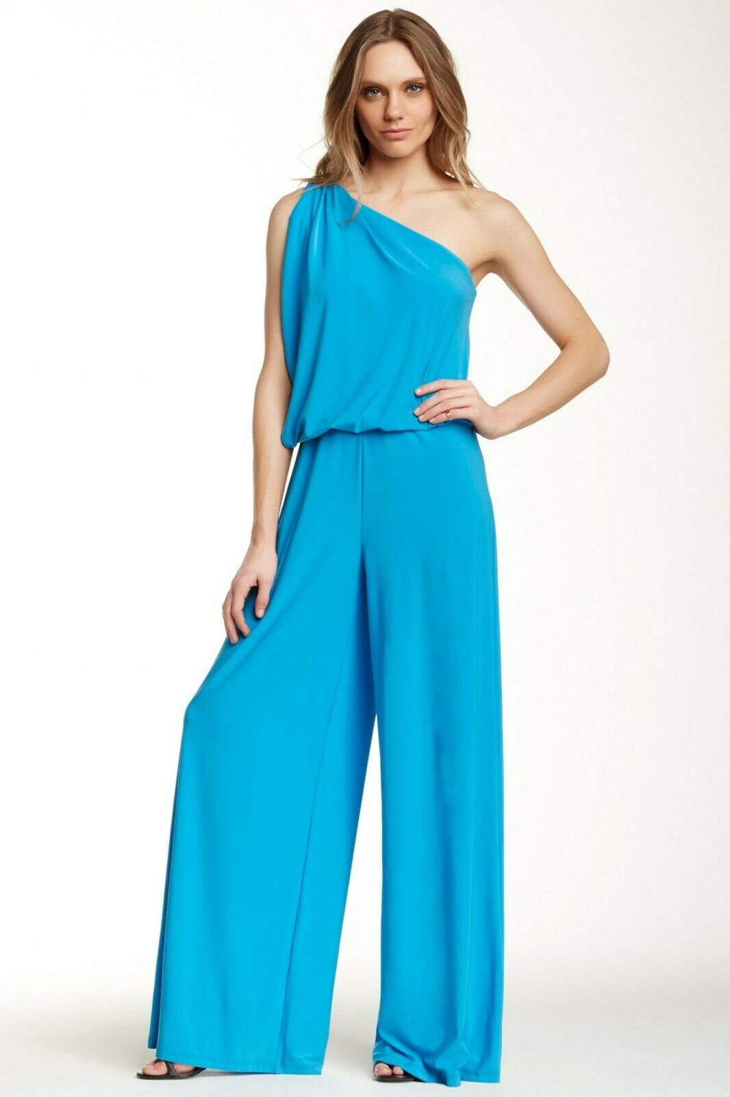 Tata Jolie Gina One-Shoulder SEXY Jumpsuit bluee Sold Out  XS