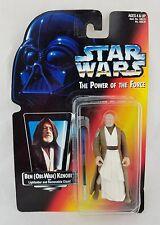 1995 Star Wars Power Of The Force BEN (OBI-WAN) KENOBI Figure NEW Red Card