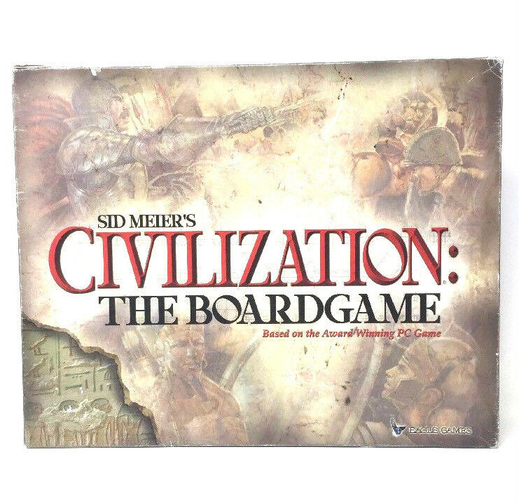 Sid Meier's Civilization  The Board Game 2002 Eagle Games L3