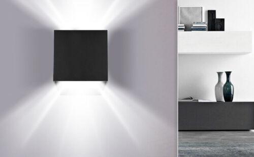 12W LED Wandlampe Kaltweiß Wandleuchte IP65 Deko Wohnzimmer Winkelverstellbar