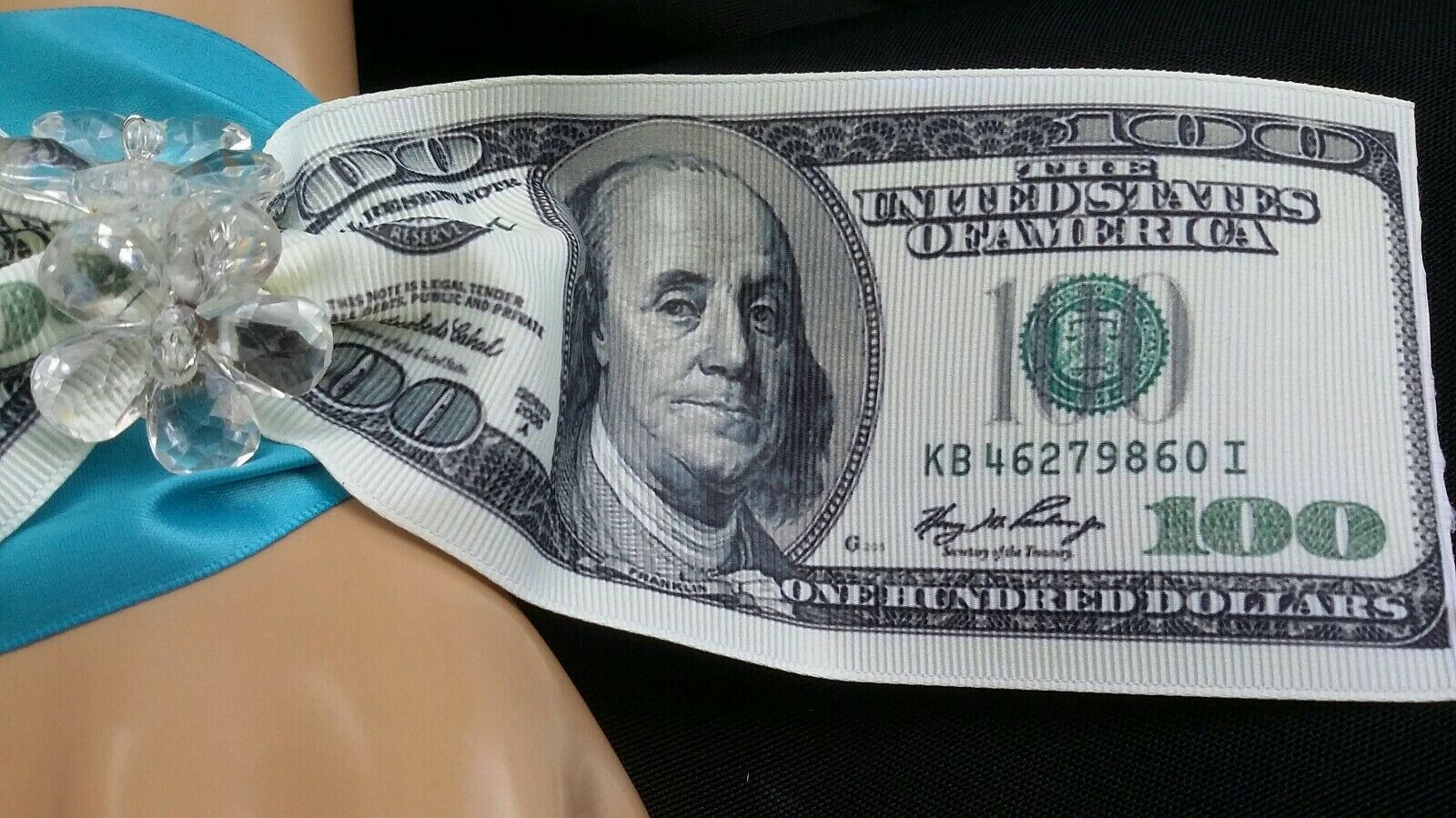 Dollar Bills Wedding Wrist Corsage,Prom, Homecoming, Military Ball, Boda,Quince