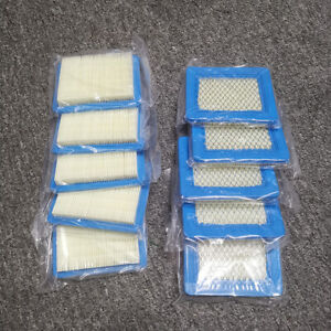 10 Pcs/Set Air Filter Lawn Mower Filters for Briggs 491588/491588S/399959