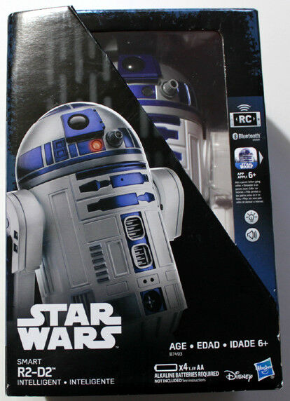 STAR WARS R2D2 HASBRO SMART INTELLIGENT DROID RC APP ENABLED BlauTOOTH