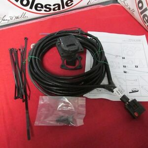 dodge ram 7 way trailer tow hitch wiring harness new oem mopar ebay