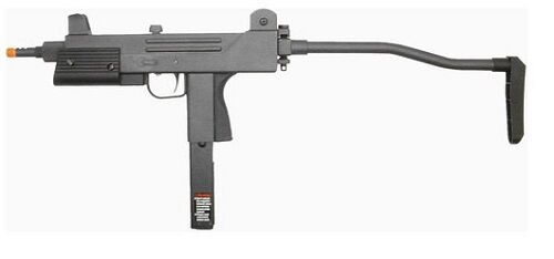 HFC 203 T77 Full Metal Gas Blowback Airsoft SMG