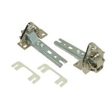 For BOSCH NEFF SIEMENS FRIDGE REFRIGERATOR FREEZER DOOR HINGES PAIR 268698