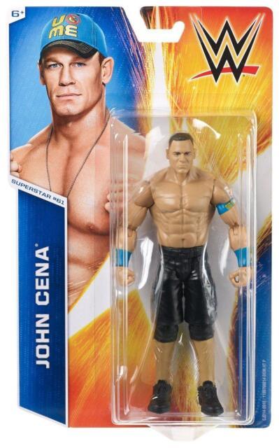WWE Basic Wrestling Action Figure - John Cena - CJD14 - Series 55 - New