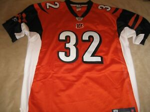 3d408926 Details about AUTHENTIC REEBOK Rudy JOHNSON Cincinnati BENGALS Orange  Jersey- Size 52 NEW!!!