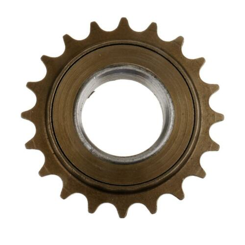 Single Speed Bike 20T Roue dentée à roue libre 34mm Diamètre