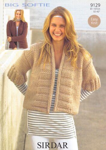 Sirdar Knitting Pattern Big Softie 9353