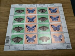 Zusammendruckbogen / Sheet se tenant Europa 2021 butterfly Postfrisch / MNH
