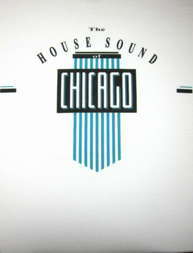 The House Sound of Chicago Inspired T-Shirt Acid House Rave House Music 1980s