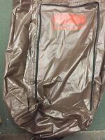 Rubbermaid Vinyl Replacement Bag Brown For Maid Cart Zippered Housekeeping