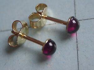 edle-Granat-Ohrstecker-Gold-333-kleine-Ohrstecker-Gold-333-mit-Granat-4-mm