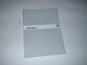 Wiring Diagram For Volvo V70 : Volvo v xc genuine wiring diagrams manual ebay