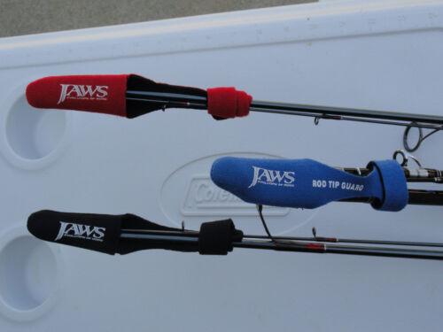 3 Mâchoires de type II Rod Top protecteur pour G-Loomis lamiglas Travel Rod en couleur bleue