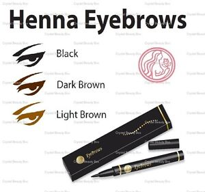 Henna Eyebrows Natural Temporary Tattoo Pen With Pure Henna Extract
