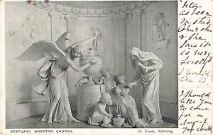 R205909 Statuary. Warkton Church. H. Evans. R. H. Brewster. 1905
