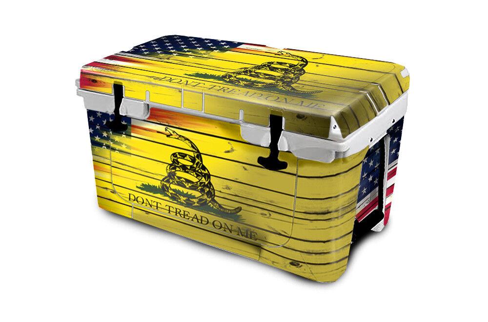 USATuff Cooler Wrap Decal 'Fits New Mold' RTIC 45QT 45QT RTIC FULL USA Don't Tread Farbe eb5466