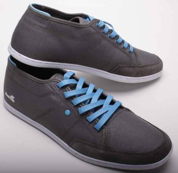 Boxfresh Schuhe WEISS Sparko Canvas E-BFM0095GC3 Grau/Blau WEISS Schuhe Sole de2847