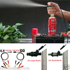 Auto Car Vehicles Tool Universal Fuel Injector Flush Cleaner Adapter DIY Kit Set