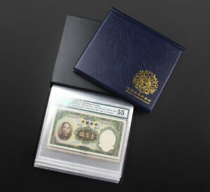 Graded Banknotes Collection Album Certificated Banknote Book Brand New Size F