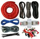 Gauge Amplifier Installation Amp Kit Wiring Complete GA Cables 2200w