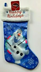 NEW w//Tags Officially Licensed Disney Frozen Olaf Christmas Stocking FREE Ship