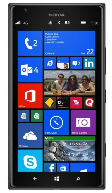 Nokia Lumia Windows Phablet Smartphone 1520 AT&T 16GB GSM (ATT) Defective Touch