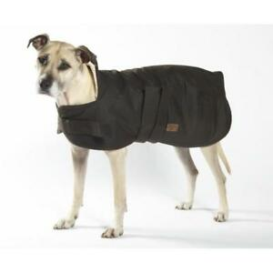 New-Burke-amp-Wills-Pet-Dog-Oilskin-Dog-Coat-Wool-Lining-Warm-Dry-Winter-Coats