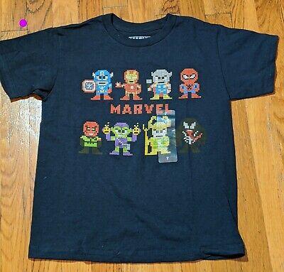 Navy 12M Toddler Boys Marvel Short Sleeve /'Stronger Together/' Hero T-Shirt
