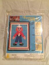 Fun Stitch Vintage 1977 Cross FS814 Ross Raggedy Dutch 5 X 7 Rare Blue Kit