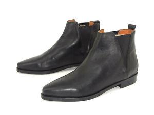 Tommy Hilfiger Schuhe Chelsea Boot Damen Stiefel Stiefeletten Leder Gr. 40