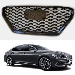 Hyundai Azera 2018 >> Details About Chrome Mesh Sports Type Grill Black Color For Hyundai Azera 2017 2018