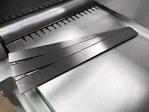 Details about MINIMAX C30 Genius Planer Blade 300 x 25 x 3 mm Set of 3 -  WADKIN BURSGREEN