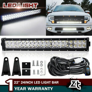 Wiring Kit Offroad Spot Flood for Jeep Truck ATV 24 22 inch 280W Led Light Bar