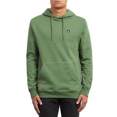 Volcom Pullover Single Stone Hoodie Green Men's Hooded Pullover Dark Kelly | eBay
