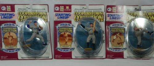 LOT OF 3 NIP 1995 Cooperstown Collection MLB Kenner