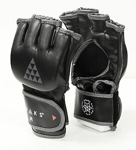 Apaks Leather Grappling Training Gloves