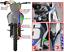 CORE MOTO KTM 125SX 150SX 250SX 250XC-F 2012-2015 FRONT AND REAR BRAKE LINE KIT